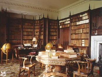 The Luxurious Library Houses With History